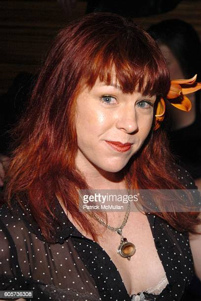 Sandy Glaze attends INTERVIEW MAGAZINE afterparty for the NY Premiere of THE NOTORIOUS BETTIE PAGE at Bed on April 10 2006 in New York City