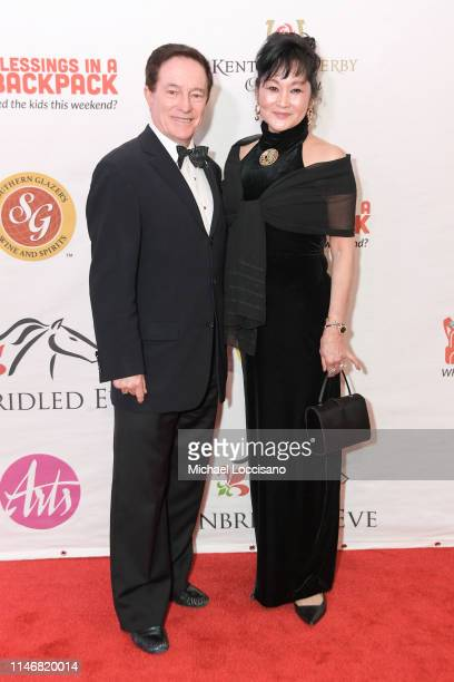 Sandy Hawley attends the 145th Kentucky Derby Unbridled Eve Gala at The Galt House Hotel Suites Grand Ballroom on May 03 2019 in Louisville Kentucky