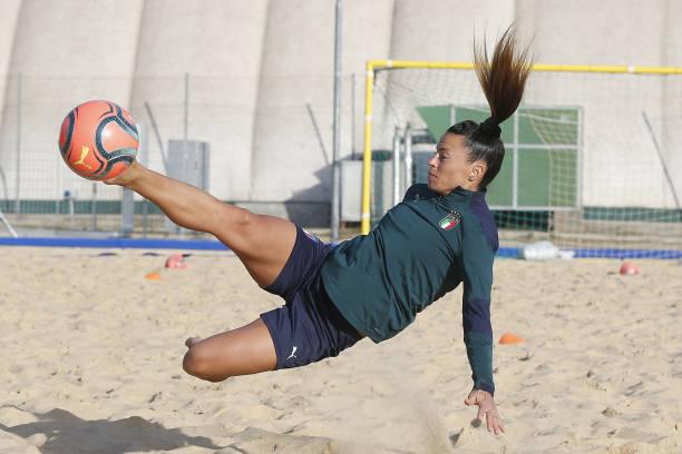 ITA: Italy Beach Soccer Women Training Session