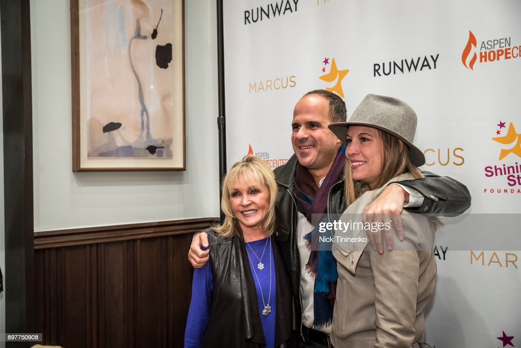 Aspen Shines Hope: Marcus x Runway : News Photo