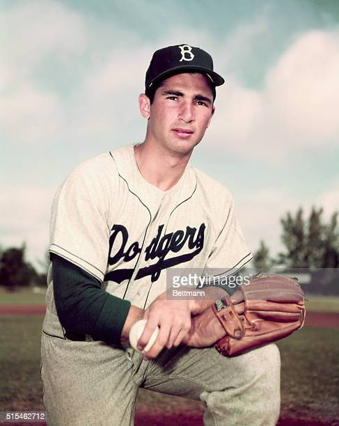 Sandy Koufax of the Brooklyn Dodgers