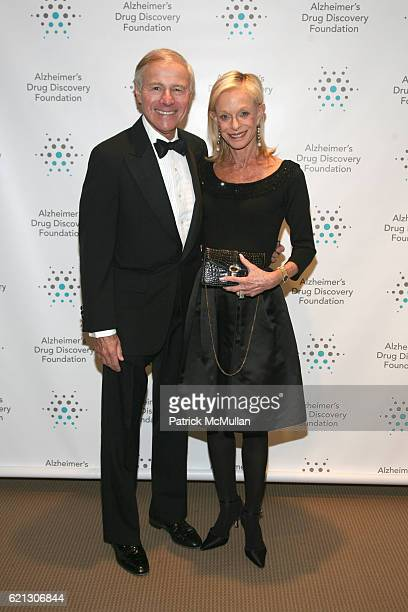Sandy Lindenbaum and Linda Lindenbaum attend Alzheimer's Drug Discovery Foundation Hosts The 2nd Annual Connoisseur's Dinner at Sotheby's on May 1...