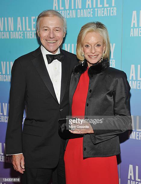Sandy Lindenbaum and Linda Lindenbaum attend the 2011 Alvin Ailey American Dance Theater's opening night gala at New York City Center on November 30...