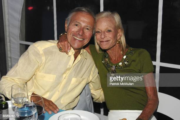 Sandy Lindenbaum and Linda Lindenbaum attend The Art of Fashion in The Hamptons GUILD HALL Summer Gala Honoring MARJORIE F CHESTER Sponsored by Van...