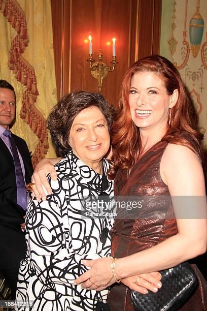 Sandy Messing and Debra Messing attend the 2013 Outstanding Mother Awards at The Pierre Hotel on May 9 2013 in New York City