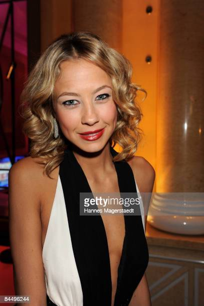 Sandy MeyerWoelden attends the Diva Entertainment Award at the Hotel Bayerischer Hof on January 27 2009 in Munich Germany