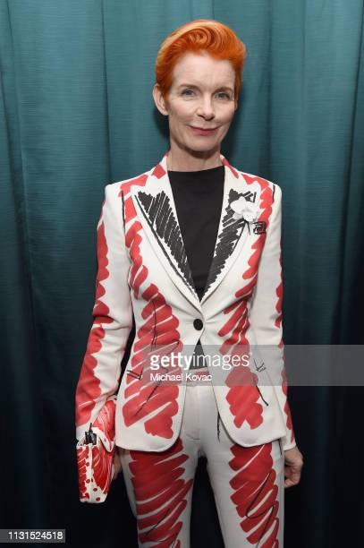 Sandy Powell attends the 12th Annual Women in Film Oscar Nominees Party Presented by Max Mara with additional support from Chloe Wine Collection...