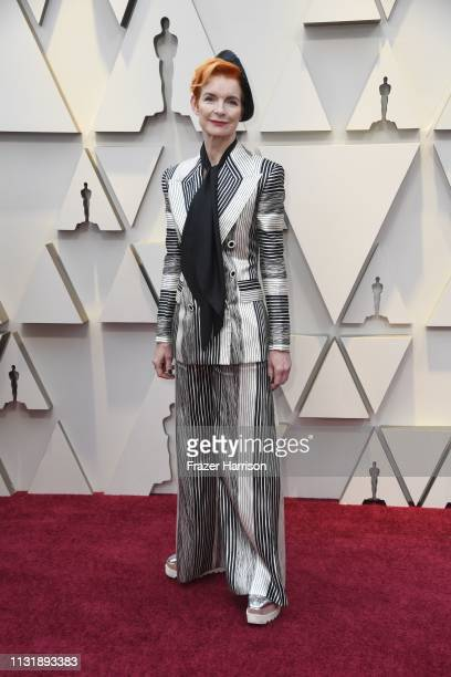 Sandy Powell attends the 91st Annual Academy Awards at Hollywood and Highland on February 24 2019 in Hollywood California