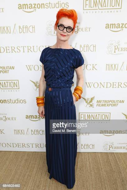 Sandy Powell attends the Amazon Studios official after party for 'Wonderstruck' at the iconic Nikki Beach popup venue during the 70th annual Cannes...