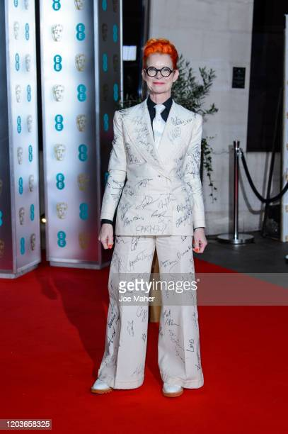 Sandy Powell attends the EE British Academy Film Awards 2020 After Party at The Grosvenor House Hotel on February 02, 2020 in London, England.