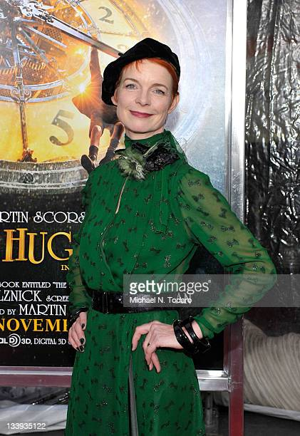 Sandy Powell attends the Hugo premiere at the Ziegfeld Theatre on November 21 2011 in New York City