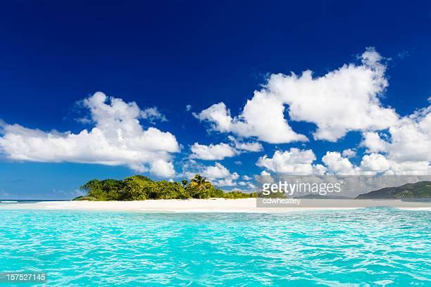 Sandigen Landzunge, Britische Jungferninseln – Karibik island paradise