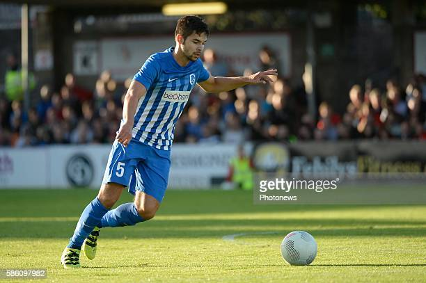 Sandy Walsh defender of Krc Genk pictured during UEFA Europa League third qualifying round 2nd Leg match between Cork City FC and KRC Genk on, August...