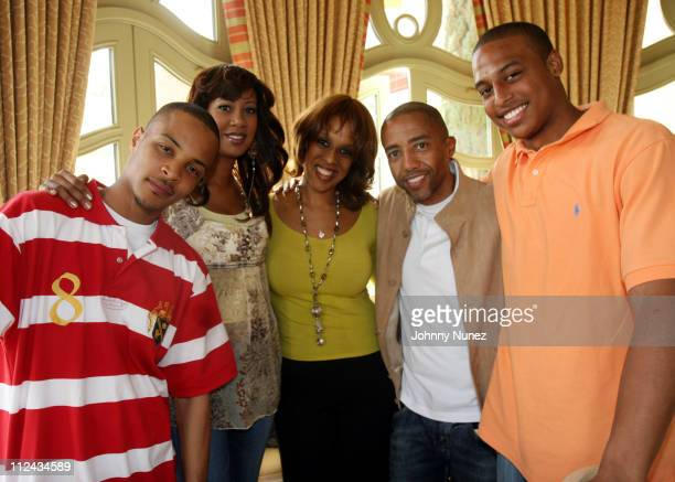 TI Sandye Lomax Gayle King Kevin Liles and William King