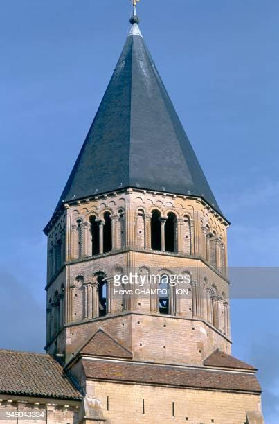 Cluny abbaye clocher de l'eau bénite