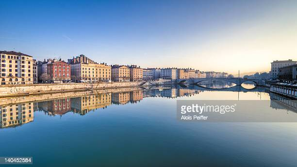 saône river - rhone stock pictures, royalty-free photos & images
