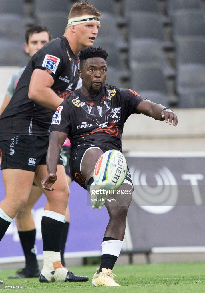 Super Rugby Unlocked: Phakisa Pumas v Cell C Sharks : News Photo