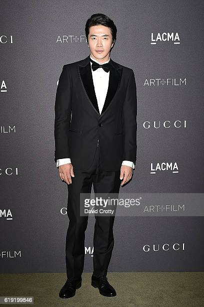 Sang Woo Kwon attends the 2016 LACMA ArtFilm Gala Arrivals at LACMA on October 29 2016 in Los Angeles California