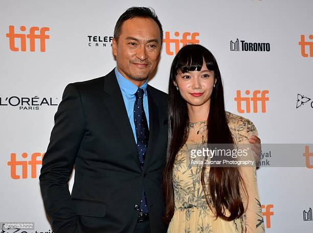 SangIl Lee and Aiko Maki attend the Rage premiere at The Elgin on September 10 2016 in Toronto Canada