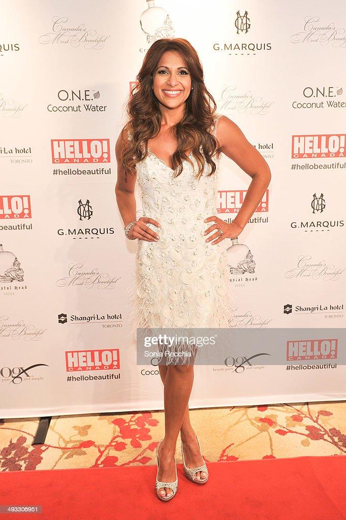 Sangita Patel attends HELLO! Canada Gala Celebrates Canada's Most Beautiful Gala at Shangri-La Hotel on May 22, 2014 in Toronto, Canada.