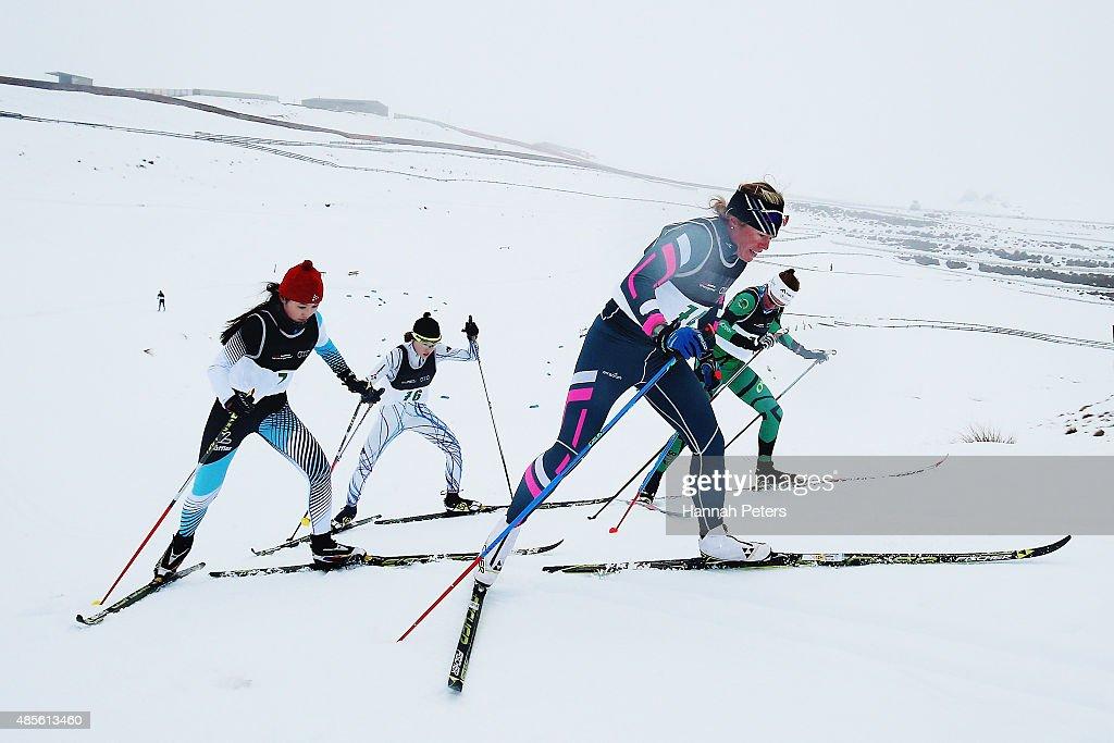 Winter Games NZ - FIS Cross-Country Skiing ANC Mass Start Classic : News Photo
