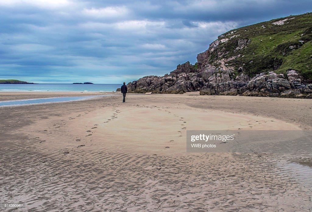 Sango Beach Durness Sutherland Scotland Stock Photo