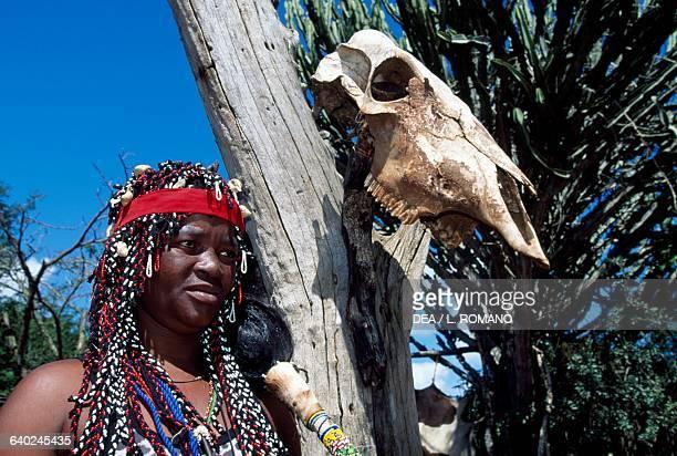Sangoma Zulu village KwaZuluNatal South Africa