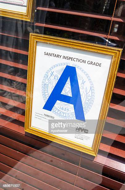 NYC sanitary inspection grade