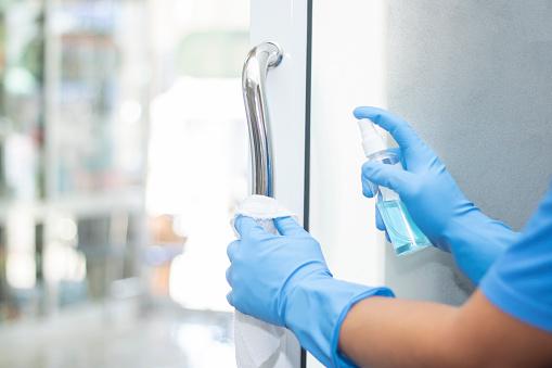 sanitizer spray clean handle door protect virus bacteria corona 2019 1220326710