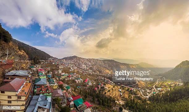 sanjauli - shimla stock pictures, royalty-free photos & images