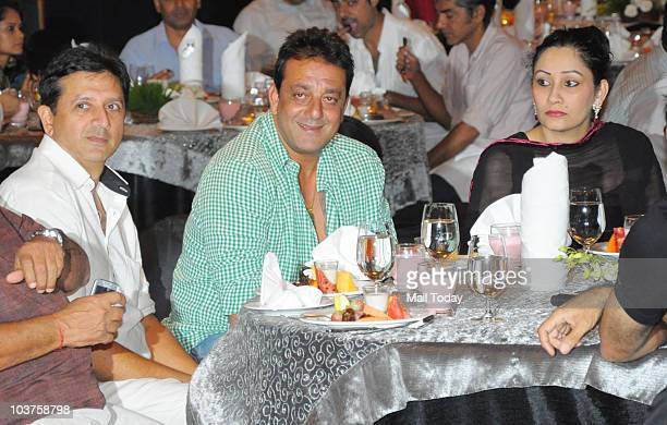 Sanjay and Manyata Dutt at their iftar party in Mumbai on August 30 2010