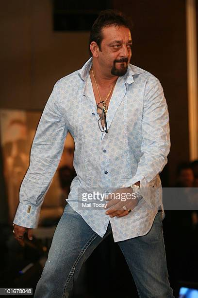 Sanjay Dutt at the IIFA awards in Colombo on June 4 2010