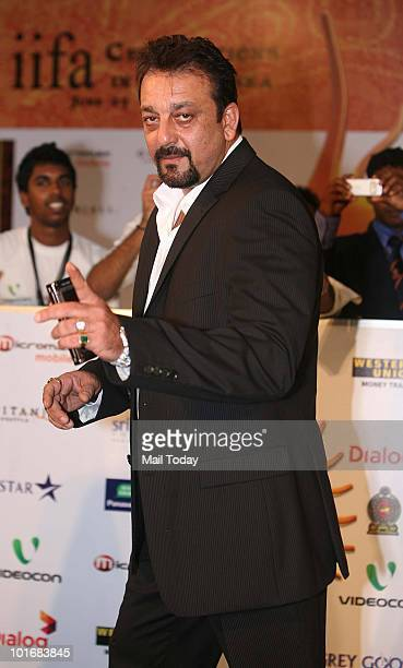 Sanjay Dutt at the IIFA awards in Colombo on June 5 2010