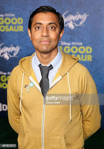 'Sanjay's Super Team' Director Sanjay Patel attends the World Premiere Of DisneyPixar's THE GOOD DINOSAUR at the El Capitan Theatre on November 17...
