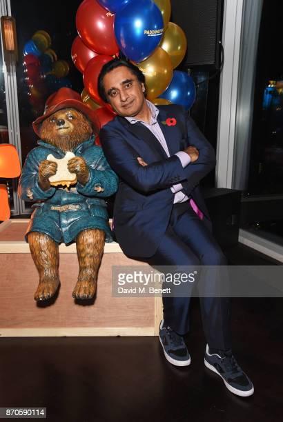 Sanjeev Bhaskar attends the World Premiere after party for Paddington 2 at Aqua Shard on November 5 2017 in London England