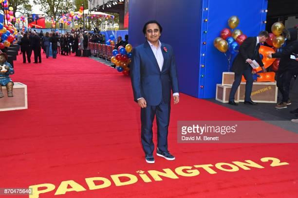 Sanjeev Bhaskar attends the World Premiere of Paddington 2 at the BFI Southbank on November 5 2017 in London England