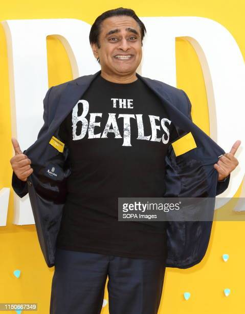 Sanjeev Bhaskar attends the Yesterday UK Premiere at the Odeon Luxe Leicester Square