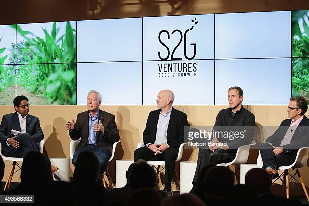 Sanjeev Krishnan general partner and managing director S2G Ventures moderates Tony Michaels chief executive officer Midwestern BioAg Inc Tim Heydon...