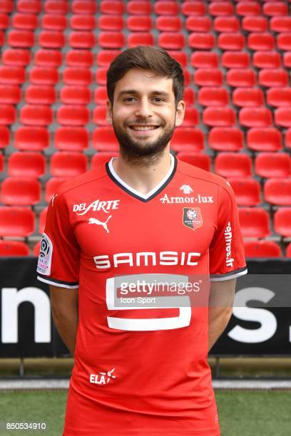 Sanjin Prcic during photoshooting of Stade Rennais for new season 2017/2018 on September 19 2017 in Rennes France