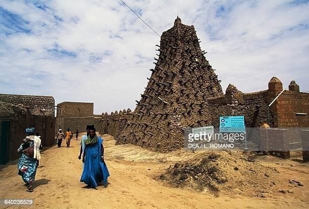 Sankore mosque Timbuktu Mali 14th century