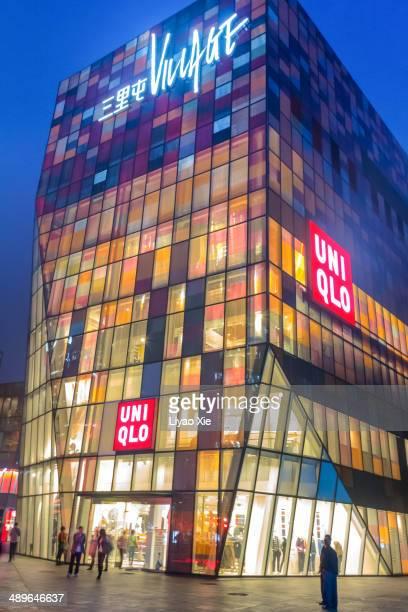 sanlitun village - liyao xie stock pictures, royalty-free photos & images