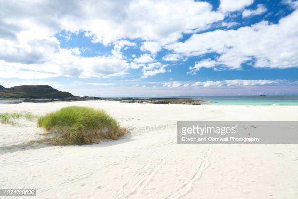 sanna bay, highlands - bay of water stock pictures, royalty-free photos & images