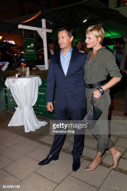 Sanna Englund and her husband Marco Fischer attend the Till Demtroeders CharityEvent 'Usedom Cross Country' on September 9 2017 at Steigenberger...