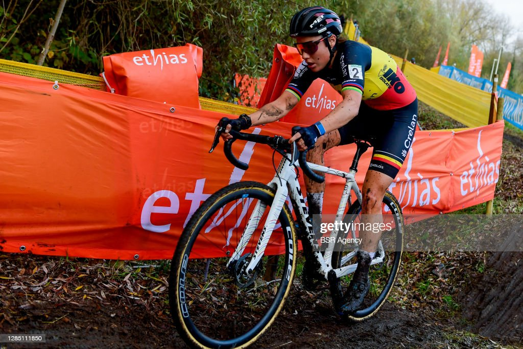 Women Elite race - Superprestige Cyclocross Niel : ニュース写真