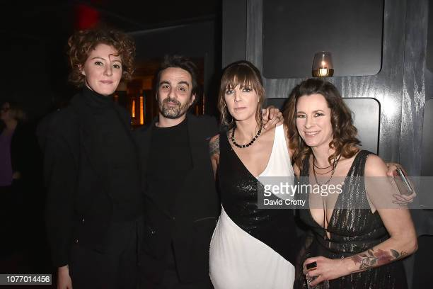 Sanne Faber Gabrial Chiave Anne L'Esterance and Molly Rusnak attend Bryan Rabin Adam Bravin's 'Giorgio's' Palm Springs Debut at Mr Lyons on January 3...