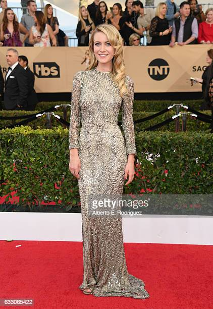 Sanne Hamers attends the 23rd Annual Screen Actors Guild Awards at The Shrine Expo Hall on January 29 2017 in Los Angeles California