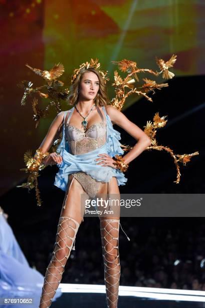 Sanne Vloet attends 2017 Victoria's Secret Fashion Show In Shanghai Show at MercedesBenz Arena on November 20 2017 in Shanghai China
