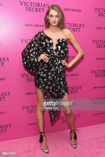 Sanne Vloet attends 2017 Victoria's Secret Fashion Show In Shanghai After Party at MercedesBenz Arena on November 20 2017 in Shanghai China