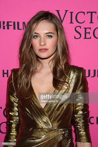 Sanne Vloet attends the 2015 Victoria's Secret Fashion After Party at TAO Downtown on November 10 2015 in New York City