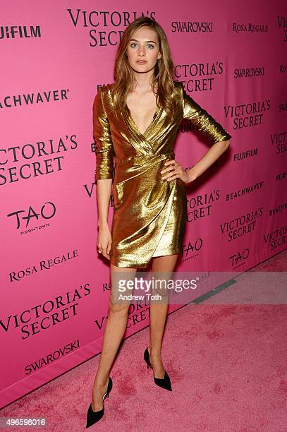 Sanne Vloet attends the 2015 Victoria's Secret Fashion Show after party on November 10 2015 in New York City